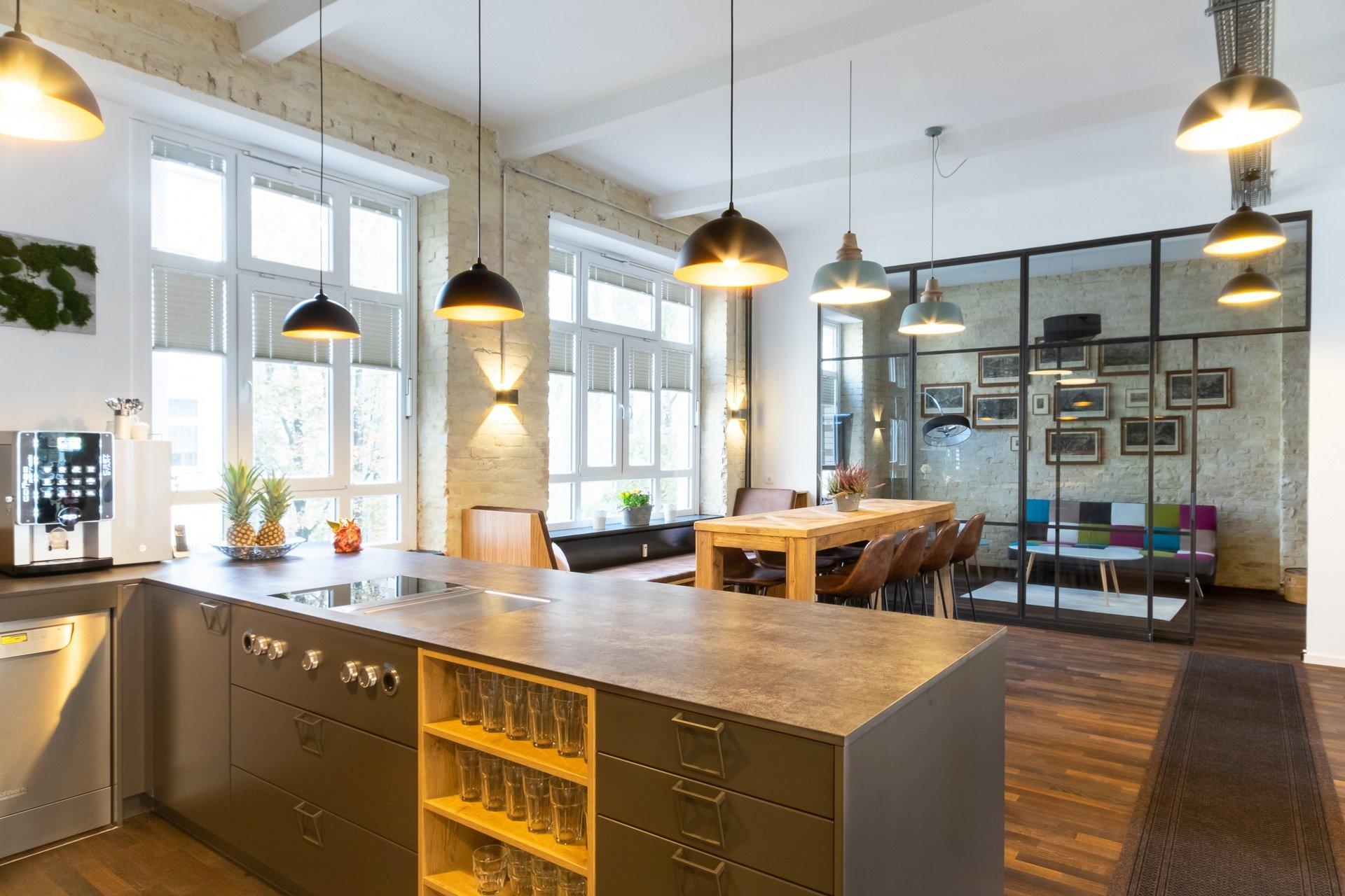 Berlin Hub Kitchen Area