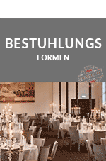 Bestuhlungsformen Events